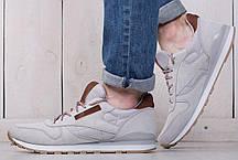 Мужские кроссовки Reebok серые топ реплика, фото 2