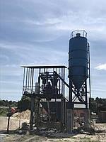 Стационарный бетонный узел - АБСУ-20 (скип)