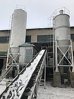 Стационарный бетонный узел АБСУ-60 (конвейер)