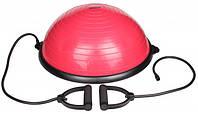 Балансировочная платформа с эспандерами и насосом ALEX Balance Trainer