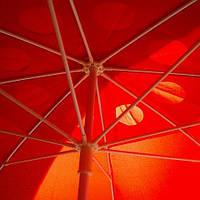 Пляжный зонт Красный от 1.8 до 3.0 Цена снижена!