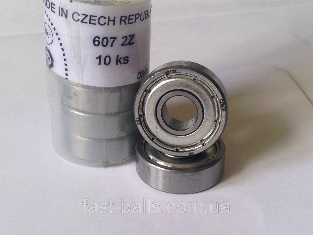 Подшипник ZKL 607 2Z (7x19x6) однорядный