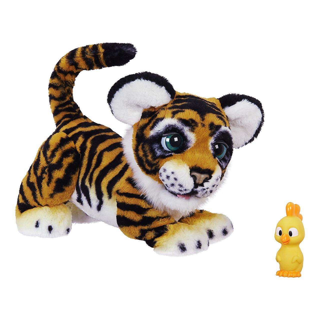 Интерактивный игривый тигрёнок амурчик Тайлер Furreal Friends Tyler Tiger Оригинал