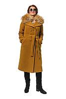Зимнее пальто с меховым воротником, 93, фото 1