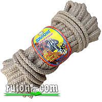 Веревка джутовая плетеная 12мм-20м-бухта-Украина