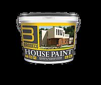 """Фасадная краска Brodeco """"Hause Paint"""" 10 л."""
