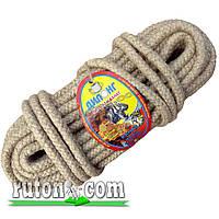 Веревка джутовая плетеная 14мм-20м-бухта-Украина