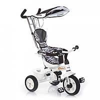 Трехколесный велосипед Lexus Trike Safari (надувные колеса) Зебра