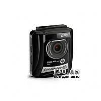 """Автомобильный видеорегистратор HP f310 GPS с WDR и дисплеем 2,4"""""""