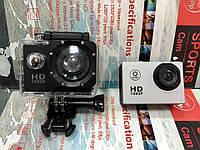 Экшен камера X7, FULL HD, водонепроницаемый бокс, экран 2 дюйма. 2 цвета