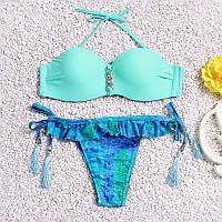 Женский купальник sky-blue размер L
