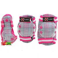 Защита Explore Cooper размер M Серо-розовый