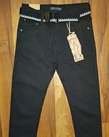 Коттоновые брюки для мальчиков подростков. Школьная модель, фото 1