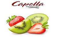 Ароматизатор Capella Kiwi Strawberry with Stevia (Киви, клубника со стевией) 5 мл.