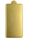 Подложка для пирожное Золотистая 100*70 мм (1уп=10 шт) Empire 0285