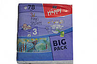 Подгузники Happy 3 ( 5 - 9 кг) 78 шт