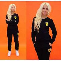 Спортивный костюм женский с карманами и манжетами  42 44 46 48 50 Р, фото 1