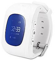 Smart Baby Watch Q50 White с GPS трекером