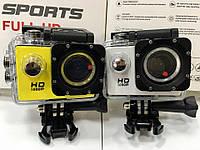 Экшен камера X71 FullHD WiFi, бокс, экран 2 дюйма. 2 цвета