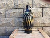 Винная бутылка Грузия с золотом №3