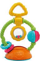 Игрушка-погремушка на присоске Chicco Touch&Spin (69029.00)