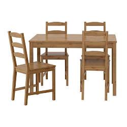 ЙОККМОКК Стол +4 стулья, 50211104, ІКЕА, ИКЕА, JOKKMOKK