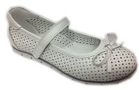 Детские ортопедические школьные туфли Perlina для девочек р. 32,33,34,35,36,37