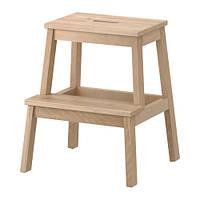 БЕКВЭМ Табурет-лестница, береза, 30178879, IKEA, ИКЕА, BEKVAM