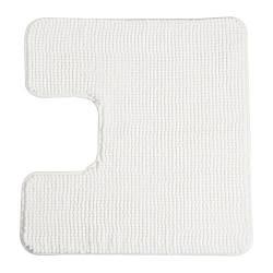 ТОФТБУ Коврик в туалет, белый, 60х55 см, 50252477, IKEA, ИКЕА, TOFTBO