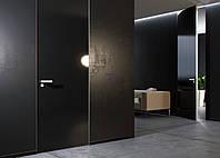 Межкомнатная дверь ELDOOR Glass standart глянец крашенное в RAL  в проем 2850х900