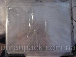 Пакет прозорий поліпропіленовий + скотч 12,5*16+4\25мк +скотч (1000 шт)заходь на сайт Уманьпак