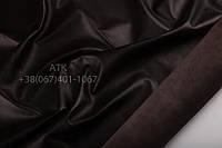 Кожа одежная наппа темно-коричневый 09-0702