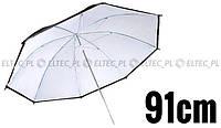 Зонтик отражающий черно-белый 91см FV