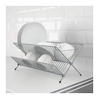 КВОТ Сушилка для посуды, оцинковка, 36980400, ИКЕА, IKEA, KVOT
