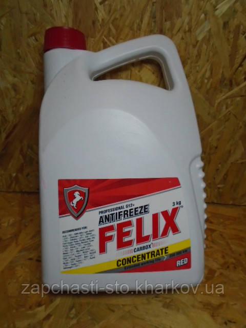 Антифриз красный G12 Felix Carbox 3кг концентрат