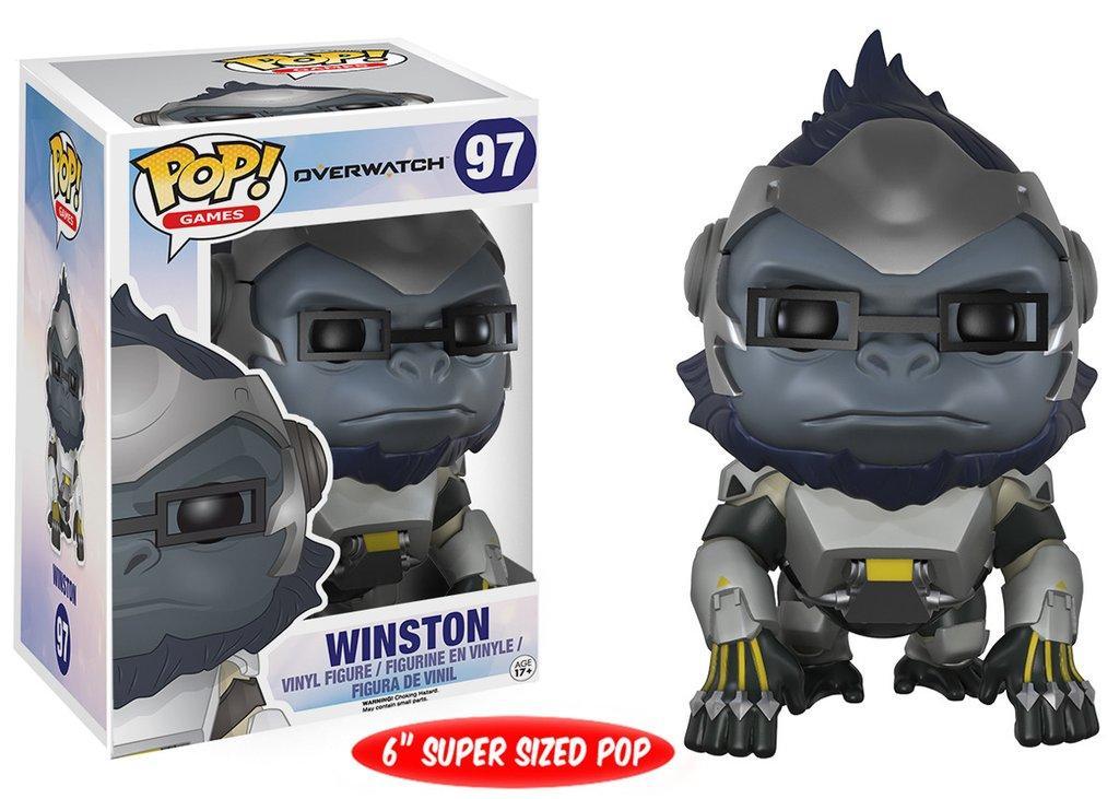 Фигурка Winston 6 Овервотч Overwatch Funko Pop