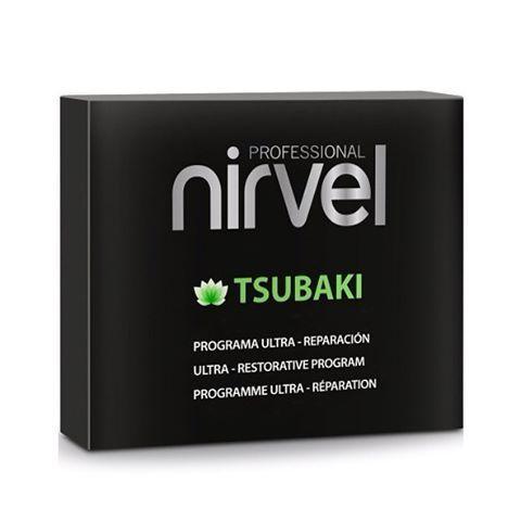 Набор для интенсивного восстановления и защиты волос Nirvel Tsubaki pack