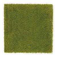 ХАМПЭН Ковер, зеленый, 80х80, 50203788, IKEA, ИКЕА, HAMPEN