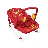 Шезлонг-качалка Tilly BT-BB-0001 Red