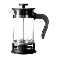 УПХЕТТА Кофе-пресс/заварочный чайник, стекло, нержавеющая сталь, 00297850, ИКЕА, IKEA, UPPHETTA