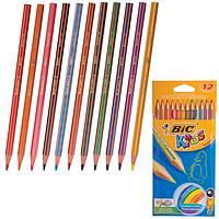 Карандаши 12 цв BIC Kids Tropicolors 2, 832566