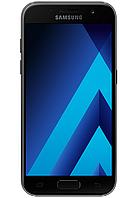 """Samsung A320F/DS Galaxy A3 2017 Duos Black 2/16 Gb, 4.7"""", 3G, 4G"""