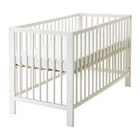 ГУЛЛИВЕР Кроватка детская, белый, 10248519, IKEA, ИКЕА, GULLIVER