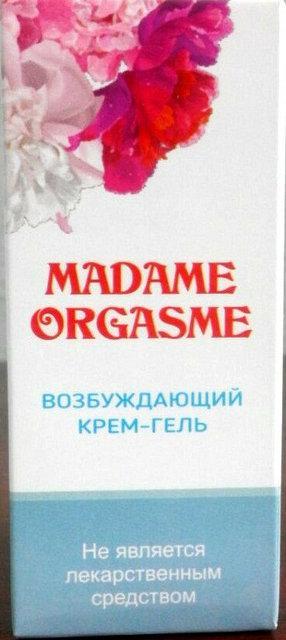 Madam Orgasm - возбуждающий крем-гель (Мадам Оргазм), 10 мл