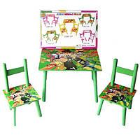 Столик с двумя стульчиками Tilly Ben-10 (W02-5151)