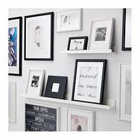 МОССЛЭНДА Полка для картин, белый, 90292103, ИКЕА, IKEA, MOSSLANDA