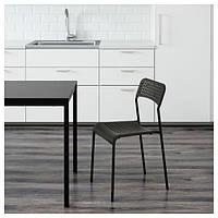 АДДЕ Стул, черный, 90214285, ИКЕА, IKEA, ADDE
