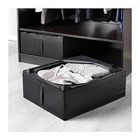 СКУББ  Сумка для хранения, черный, 90290364, ИКЕА, IKEA, SKUBB