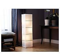 РУТБУ  Светильник напольный, прямоугольной формы, белый,  60321588, ИКЕА, IKEA, RUTBO