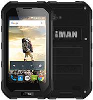 """IMAN X5 black IP67 1/8 Gb, 4.5"""", MT6580, 3G"""
